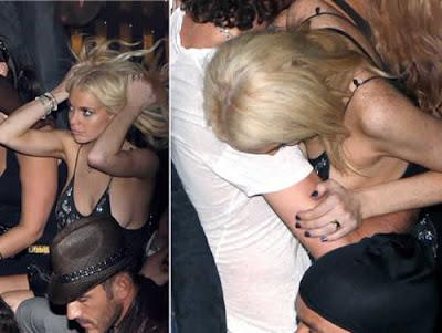Lindsay Lohan quase paga peitinho