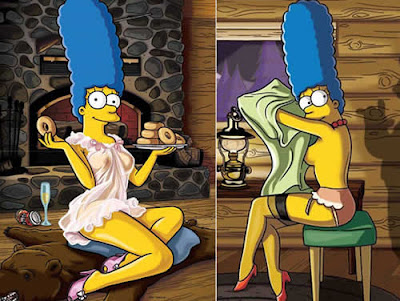 Marge Simpson na Playboy: Foto
