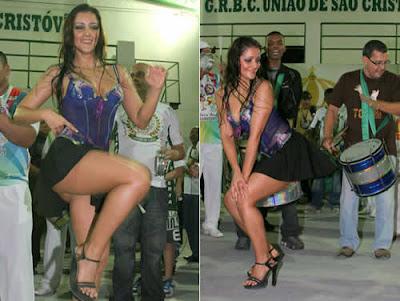 Nana Gouvêa samba de minissaia