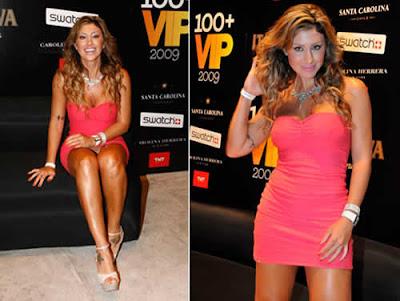 Jaqueline Khury sem calcinha e Micro Vestido em festa