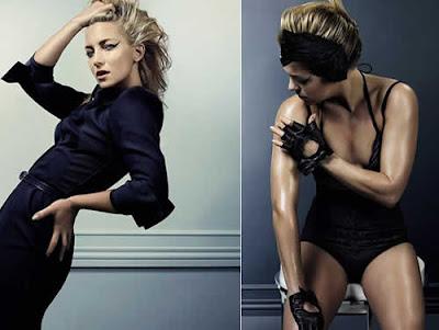 Kate Hudson sensual na revista Elle