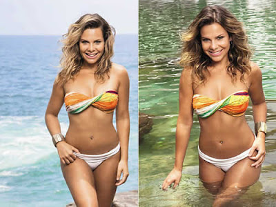 Fernanda Souza de biquini e corpo sarado