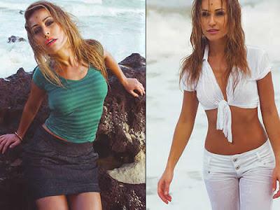 Sabrina Sato: Roupa molhada e sexy