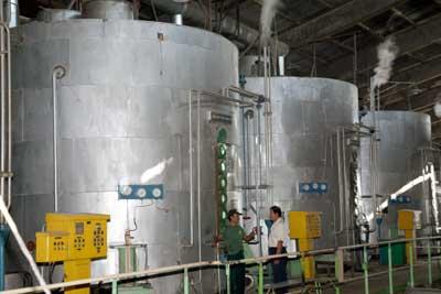 Proses Pembuatan Gula Tebu