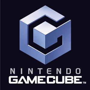 Nintendo game cube logo vector