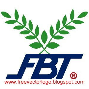 FBT Football Thai logo vector