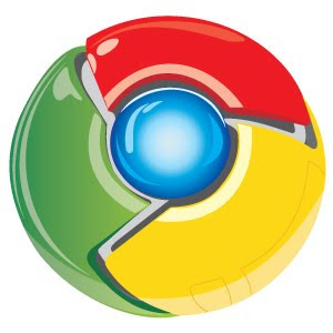 Google Chrome logo vector
