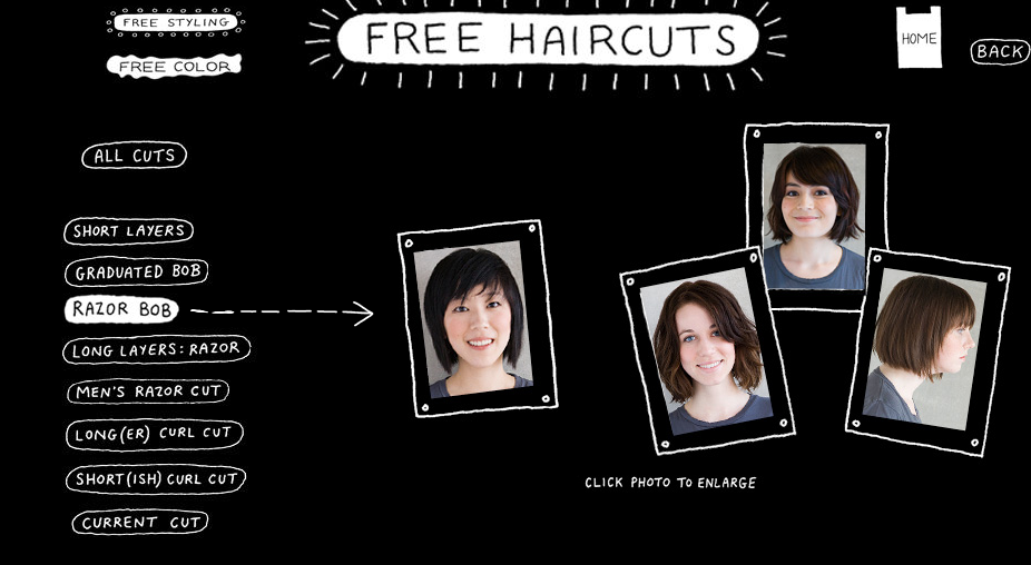 Hot New Trends In The Entertainment World Free Haircut At Bbu