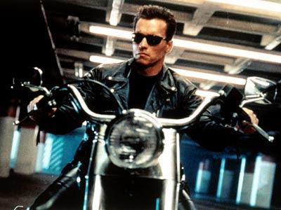 Arnold en Terminator