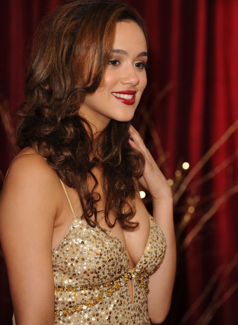 Pretty Actress Nathalie Emmanuel The Hollywood Actress