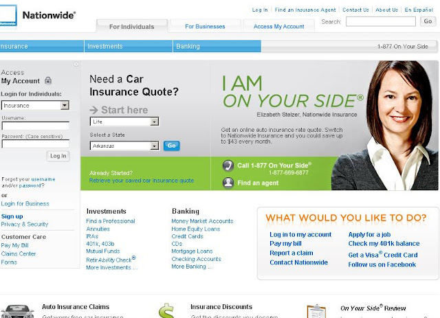 Www.Nationwide.com - Login to Nationwide Insurance Quotes & Claim