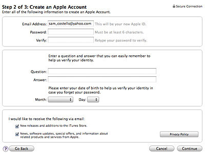 how to cancel my itunes account
