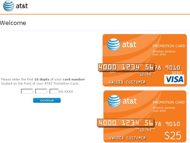 AT&T Rebate Card, www.att.com/wirelessrebatecard, att.com/wirelessrebatecard