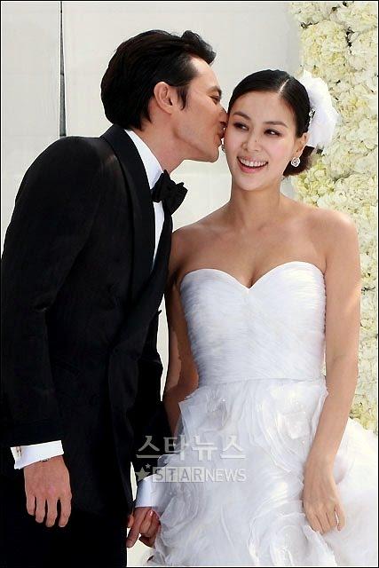 Jang Dong Gun Wedding Photos