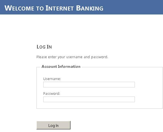 chase online banking logon page