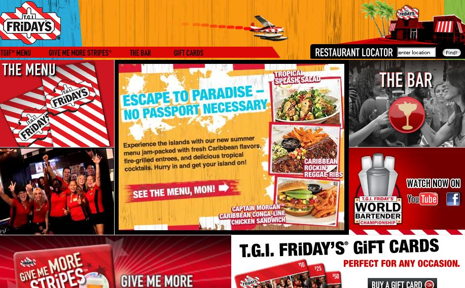 Use T.G.I. Friday's store locator tool at website download-free-bailey.ga to find out T.G.I. Friday's Locations and operating hours of each store with phone numbers.