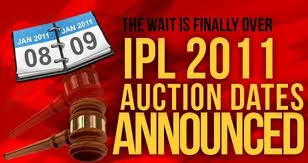 350 players to be auctioned for IPL 4 on 8-9 Jan 2011
