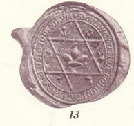 Prague Communal Seal magen david