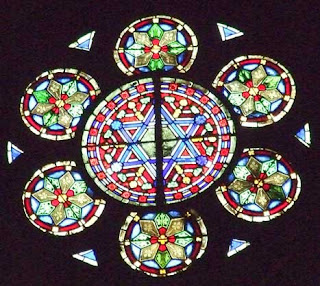 Metz, Gothic Cathedral Christian Hexagram