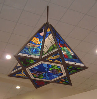 Star of David Lampshades Israeli art