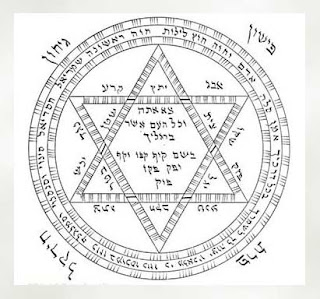 Star of David Amulet from the Book of Raziel