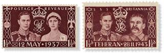 Nazi Propaganda Jewish star Stamp