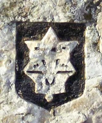 מגן דוד חצוב בסלע