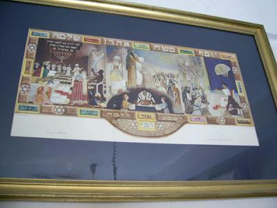 Old Jewish star Poster