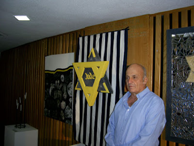 Yellow Badge israeli art Chanoch Ben Dov