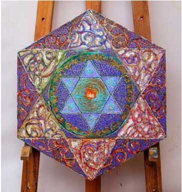 New Star of David mandala