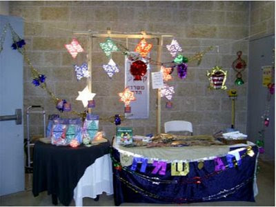 Star of David Lampshades booth