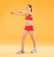 Sarkık kollar için egzersizler