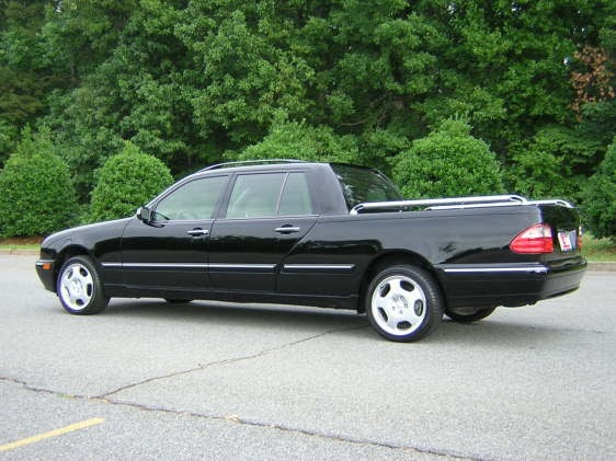 Just a car geek 2001 mercedes benz e320 pick up truck for Mercedes benz pick up