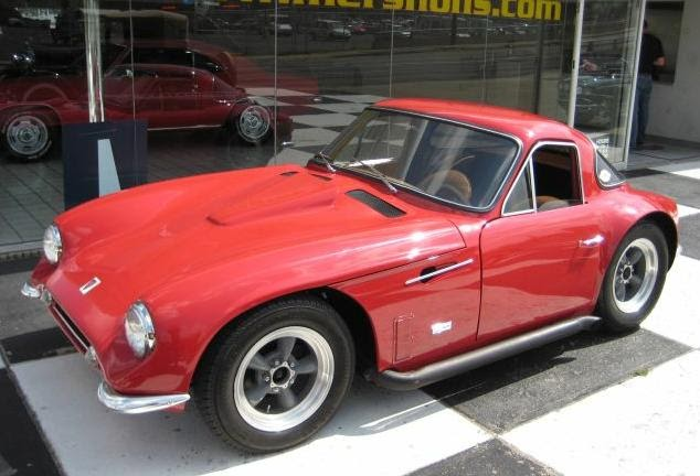 just a car geek 1964 tvr griffith prototype. Black Bedroom Furniture Sets. Home Design Ideas