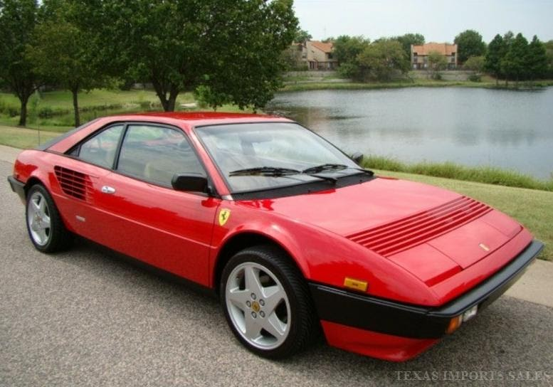 just a car geek 1981 ferrari mondial coupe. Black Bedroom Furniture Sets. Home Design Ideas