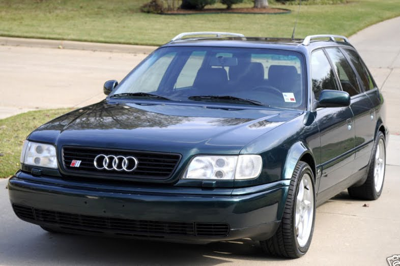 Just A Car Geek 1995 5 Audi S6 Avant With Rs2 Upgrades