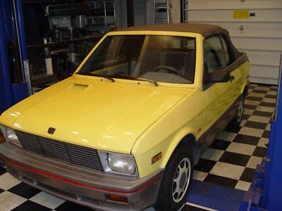 Just A Car Geek: 1990 YUGO Convertible - A Very Rare Car