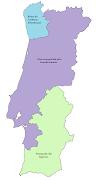 Finalmente, quatro dias depois, Izquierdo e Duroc chegam a um acordo . (mapa de portugal tratado de fontainebleau )