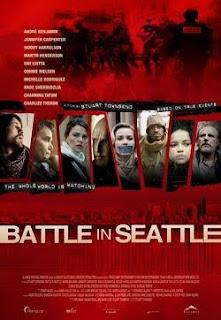 Filme Poster A Batalha de Seattle DVDRip XviD Dual Áudio