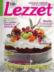 Dusbahcesi Aralik 2010'da Lezzet Dergisinde
