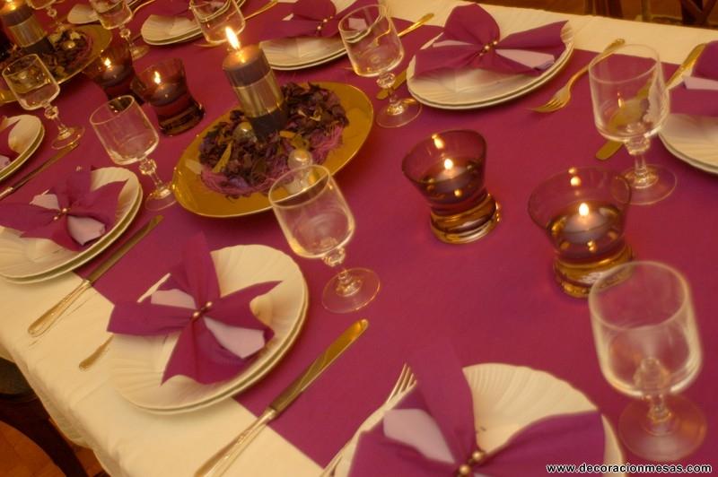Decoracion de mesas mesa navidad 4 - Decoracion de navidad para mesas ...