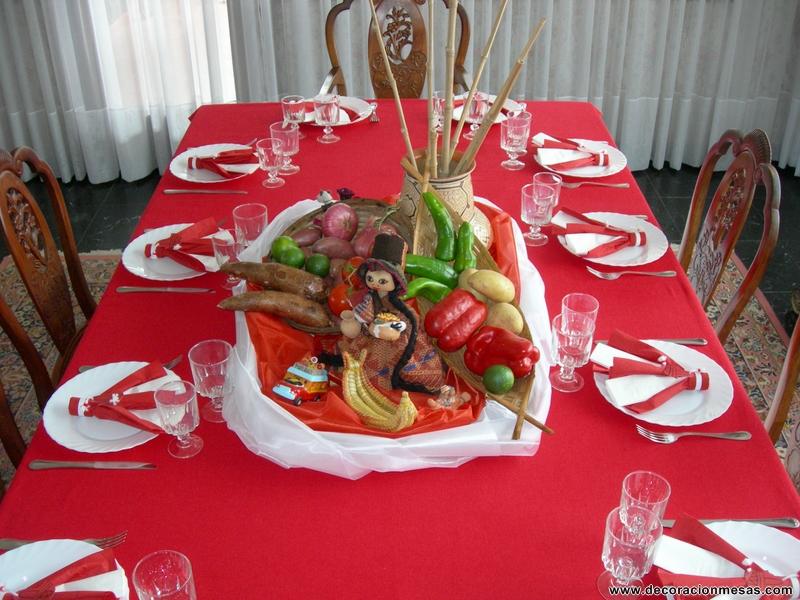 Decoracion Italiana Para Fiestas ~ Decoracion de mesas