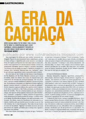 CACHAÇAS