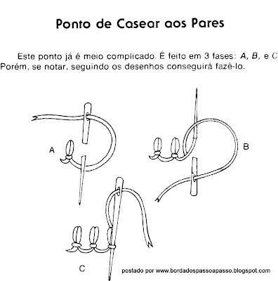 PONTO DE CASEAR AOS PARES PASSO A PASSO