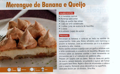 MERENGUE DE BANANA E QUEIJO