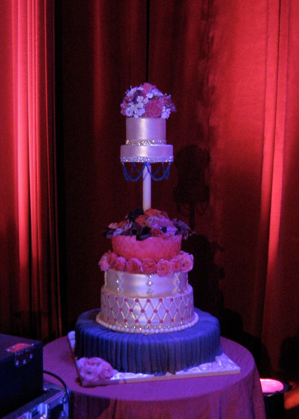 sublime bakery wedding cake for my fair wedding with david tutera