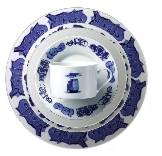 Nicholas Lovegrove and Demian Repucci have come up with this fun and funky twist on traditional delft dinnerware.  sc 1 st  IfItsHipItsHere - Blogger & If Itu0027s Hip Itu0027s Here (Archives): Funky Find Of The Week: Lovegrove ...