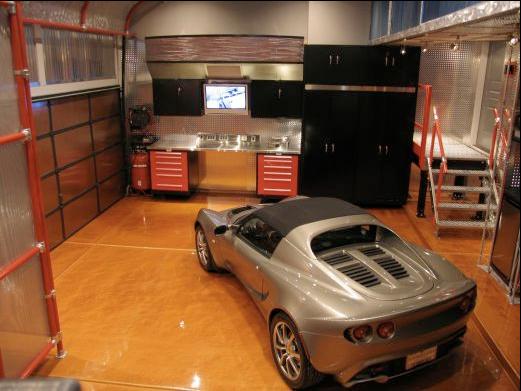 High Tech Garage New Of HighTech Car Garage Picture