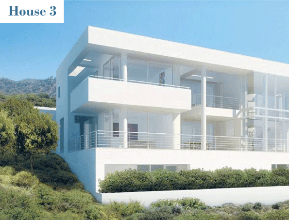 bodrum houses 2007 2010 yalikavak turkey each of the richard meier - Richard Meier Homes