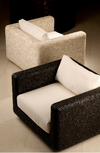 Outdoor Furniture Cushioned Seats Under Low Fable